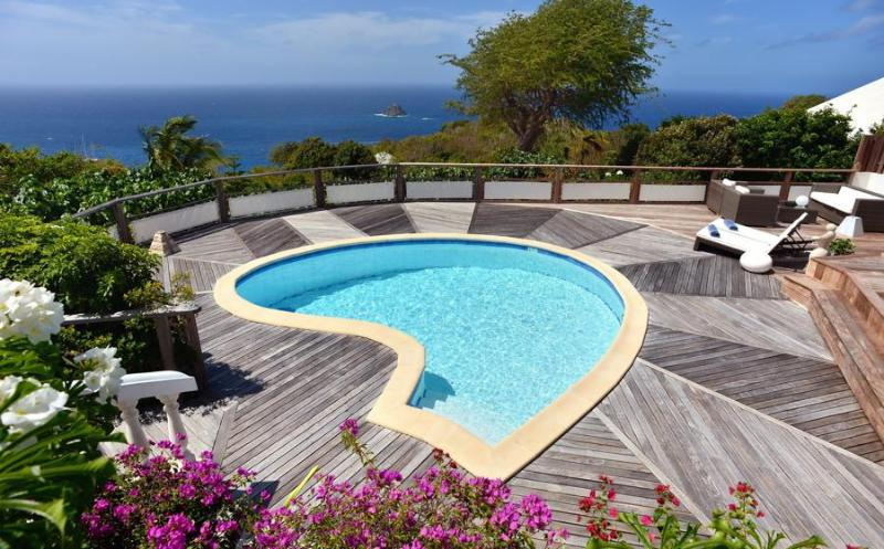 Total Privacy with expansive sea views - Image 1 - Anse des Flamands - rentals