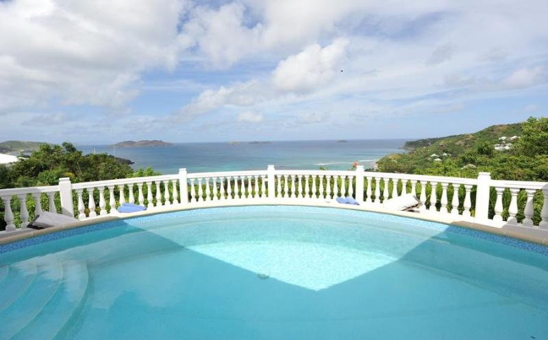 Ideal for Couples, Stunning Ocean Views, Very Private w/ Swimming Pool - Image 1 - Anse de Lorient - rentals