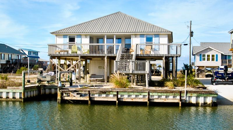 Water's Edge - Boat, Kayak or Paddle from your own backyard Dock - Image 1 - Dauphin Island - rentals