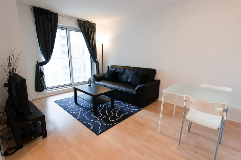Living Room - Scarborough Centre Luxury Business Suite (One-Bedroom) - Toronto - rentals