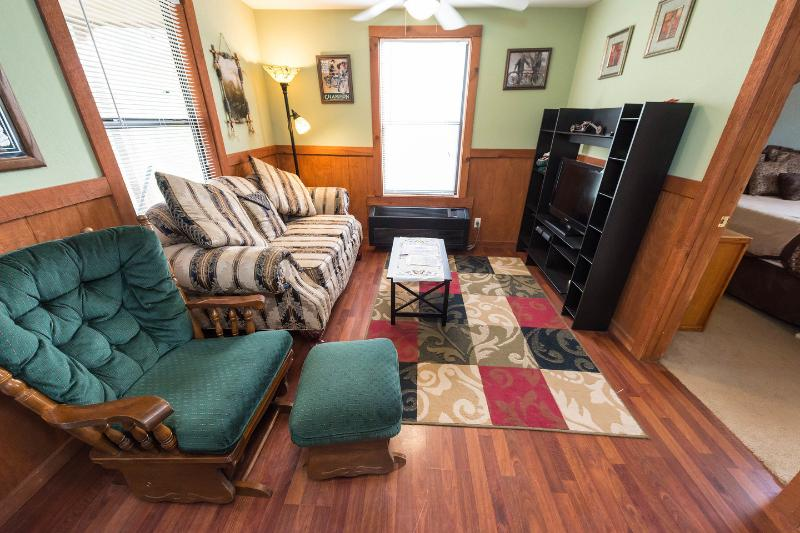 Living Room - Sleepy Hollow Cabins/Missy's Hideout - Bryson City - rentals