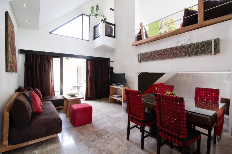 Living Room - Villa Naree 3 with pool in Batubelig, Seminyak - Kuta - rentals