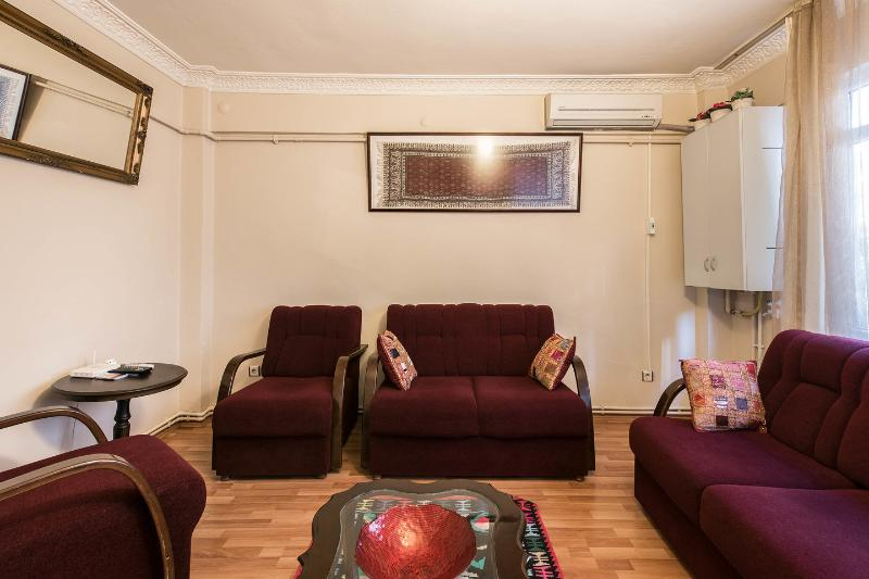 Living Room - PERFECT LOCATION & PRICE IN TAKSIM - Istanbul - rentals