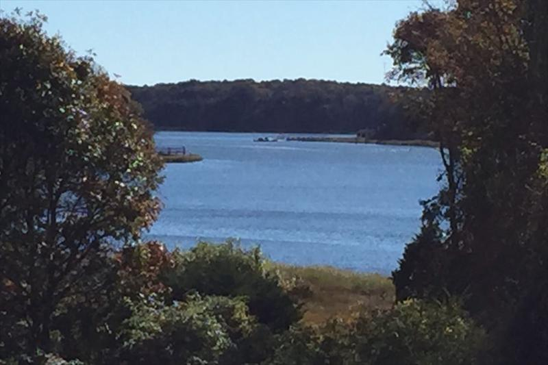 view from deck - Spacious home with water views and water access 108991 - Orleans - rentals