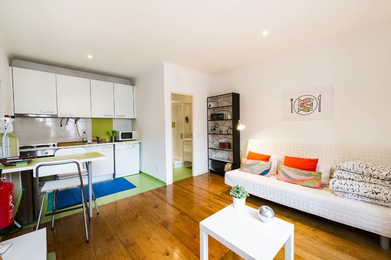 The Master Bedroom - Eco GREEN Studio Apartment - Lisbon - rentals