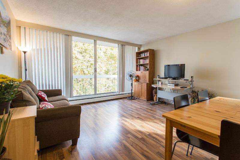 Living Room - Sleeps 5 West End Vancouver on Pendrell near Davie - Vancouver - rentals