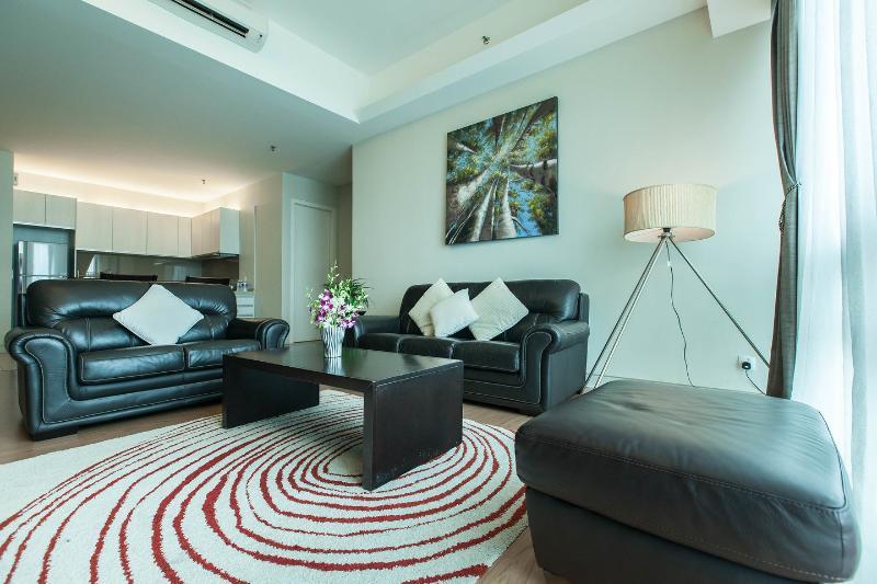 Living Room - Luxurious apt on 32nd Flr Swiss Garden Residences - Kuala Lumpur - rentals