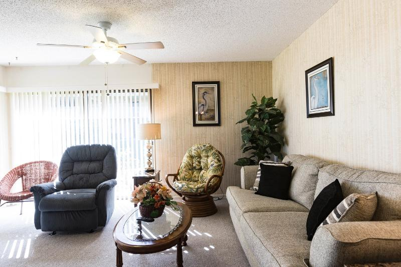 Living Room - Ocean Gallery Resort-Premiere Vista 113 - Saint Augustine Beach - rentals