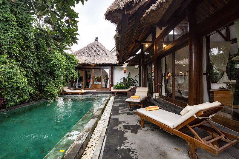 The Pool - Rustic Luxury: Villa Ananda Sri - Ubud - rentals