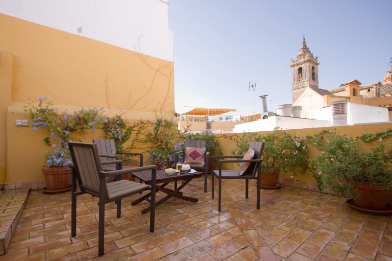 Bamberg Duplex Terrace, Santa Cruz district 5 pax - Image 1 - Seville - rentals