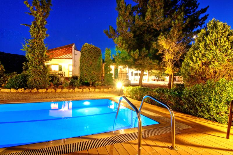 Front of property - Villa Metochi - Rustic Ambiance & Comfort - Rethymnon - rentals