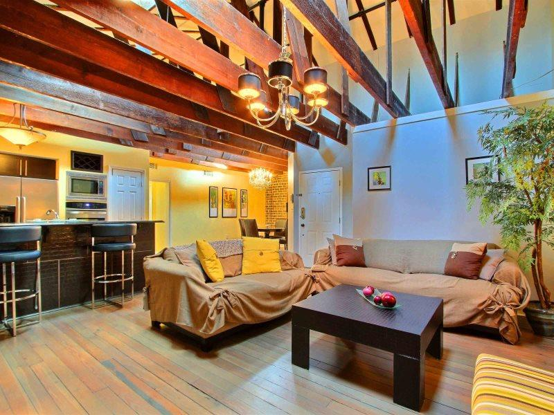 Location! Location! Location! This Wonderful Broughton Street Loft has it all. Modern, Comfortable and in the Middle of it all. - Image 1 - Savannah - rentals