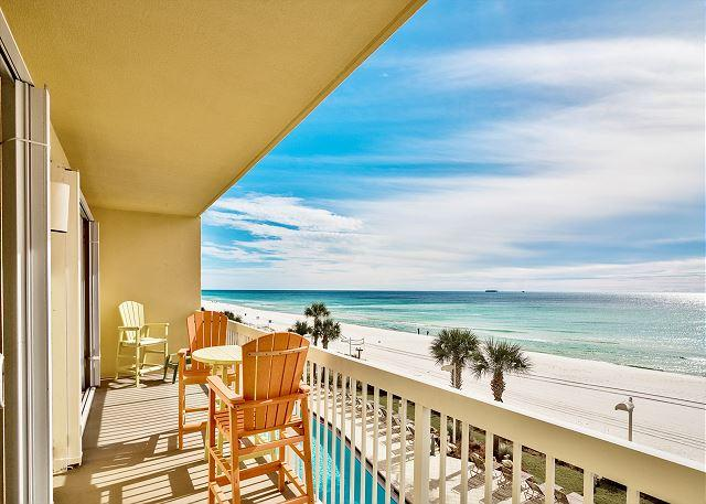 3RD FLOOR LUXURY BEACHFRONT FOR 4! OPEN 11/21 - 28! ONLY $895 TAX INCLUDED! - Image 1 - Panama City Beach - rentals