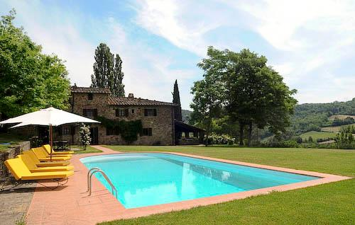 Villa Felicita, Main house and apartment, 10 persons rate - Image 1 - Chianti - rentals