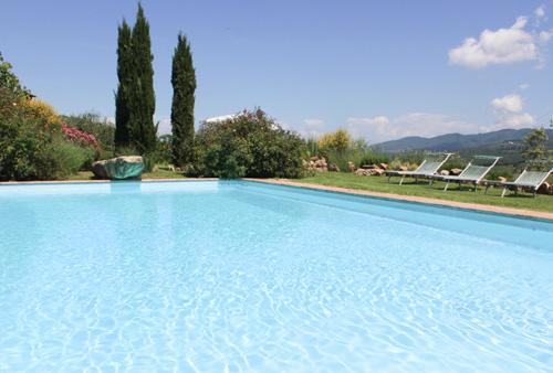 Villa Bucciarelli, 6 Bedroom Rate, main house & detached villa - Image 1 - Chianti - rentals