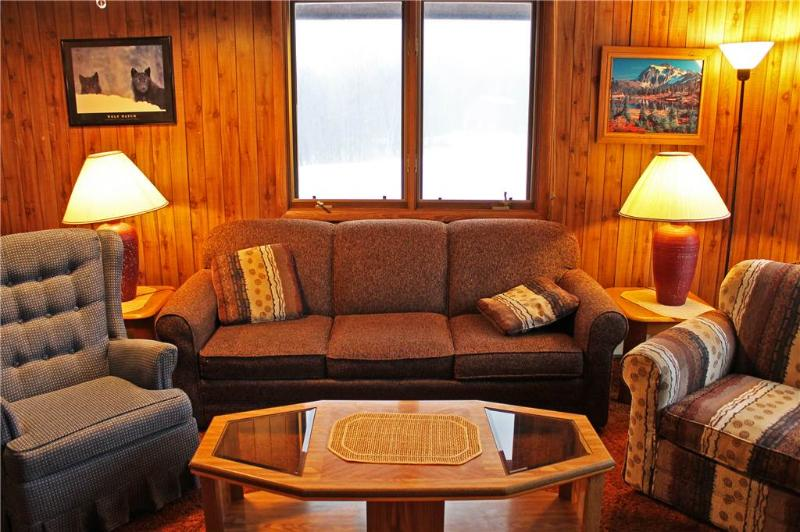 Located at Base of Powderhorn Mtn in the Western Upper Peninsula, A Pleasant Duplex on Semi Private Cul-de-Sac with Large Deck Facing Ski Hill - Image 1 - Ironwood - rentals