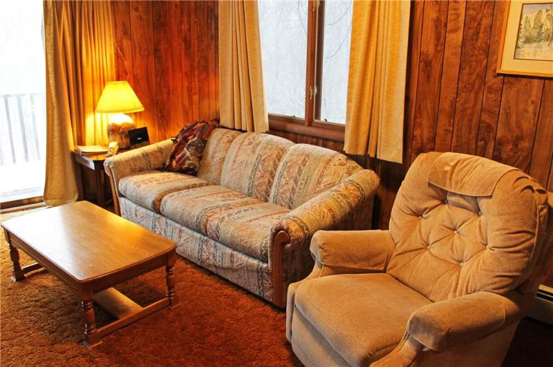 Located at Base of Powderhorn Mtn in the Western Upper Peninsula, A Simpl Duplex with Large Deck Facing Ski Hill & on Semi Private Cul-de-Sac - Image 1 - Ironwood - rentals