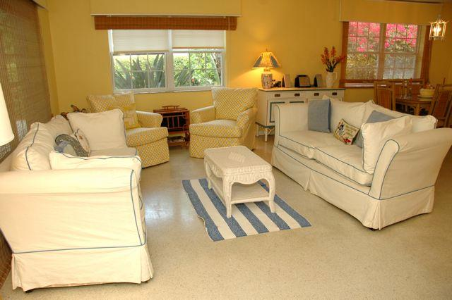 Living Room - House in Olde Naples - Naples - rentals