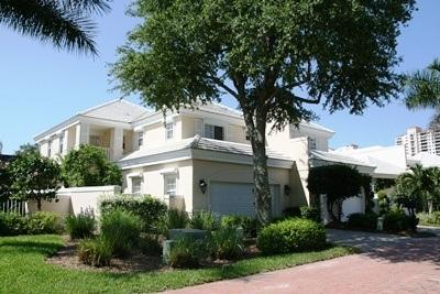 Front View - Carlton Place in Pelican Bay - Naples - rentals