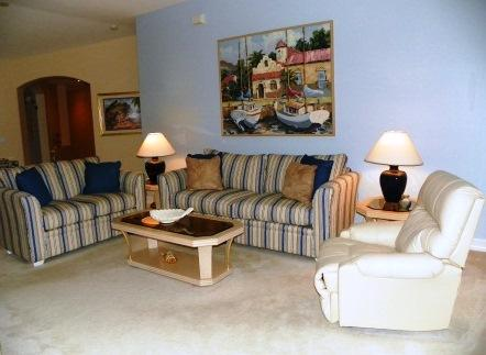 Living Room - Barbados in Tarpon Cove - Naples - rentals