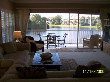 Living Room View 2 - Wedgewood in Bonita Bay - Bonita Springs - rentals