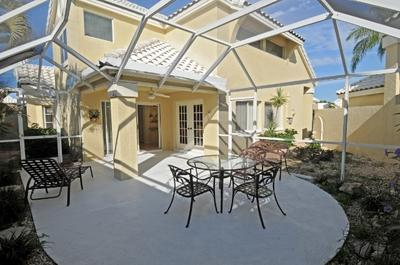 Patio - Carmel at Vanderbilt Lakes - Bonita Springs - rentals