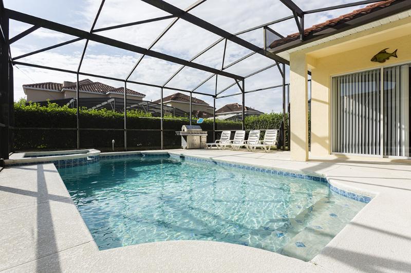 Tuscan Hills 6 Bedroom Home Southfacing Pool/Spa - Image 1 - Davenport - rentals