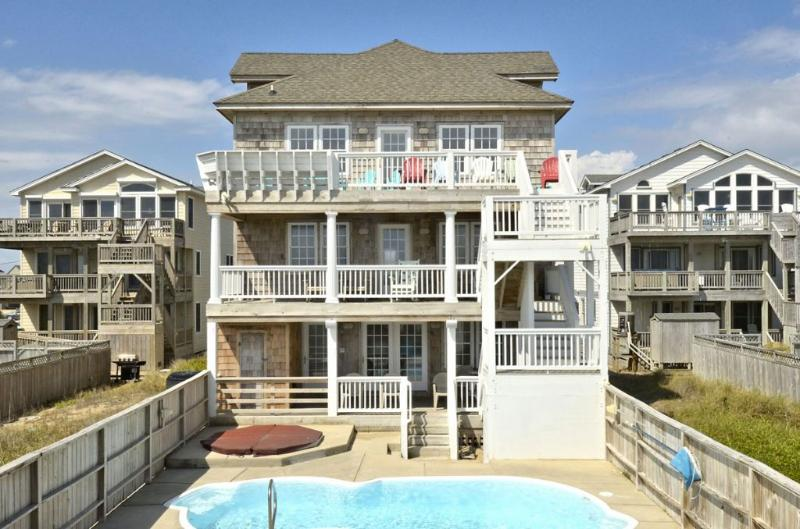 Back Elevation - Mari-Time - Nags Head - rentals