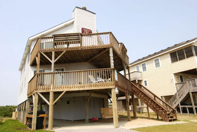 Front Elevation - Dream of Jeanne - Nags Head - rentals