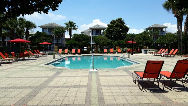 1 of 2 seasonally heated pools. Home is only 2 houses away! - South Seas Home on 1st Beach Street! Walk to Beach, 2 houses from main pool! - Miramar Beach - rentals