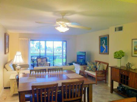 Living Room - Chinaberry 414 - Siesta Key - rentals