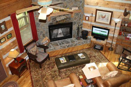 Living Room - A White Tail Ridge - Seven Devils - rentals