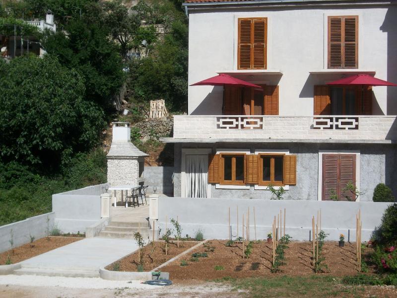 house - 001POVL A2(2+2) - Povlja - Povlja - rentals