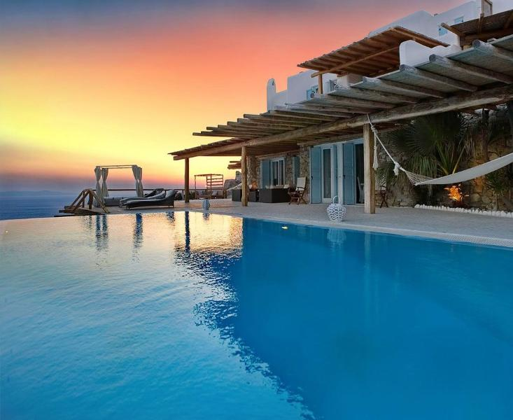 Blue Villas | Fanari Retreat | Ideal For Big Group - Image 1 - Mykonos Town - rentals