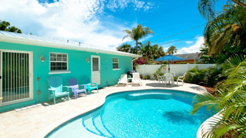 Heated Pool! - Escape to Serenity A: 2BR Pet-Friendly Pool Home - Holmes Beach - rentals