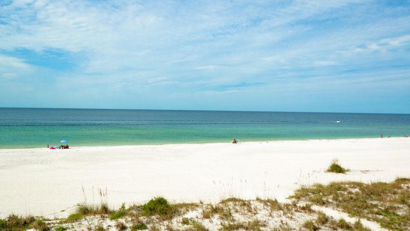 Gulf View from Balcony - Endless Summer AMIC 23: 2BR Beachfront Condo - Bradenton Beach - rentals