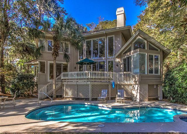 Exterior - 9 Loblolly- 4 Bedrooms, quick bike ride to beach,Harbourtown & South Beach - Hilton Head - rentals