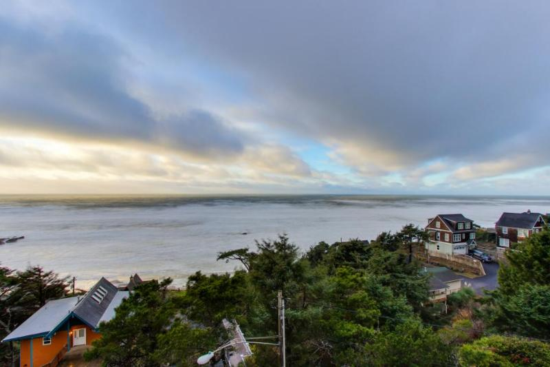 Dog-friendly studio with superb ocean views & nearby beach access! - Image 1 - Lincoln City - rentals