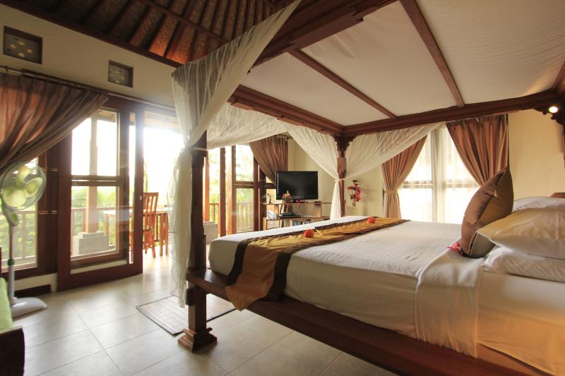 Studio on upper-level - Studio with Private Pool surrounded by rice fields - Ubud - rentals