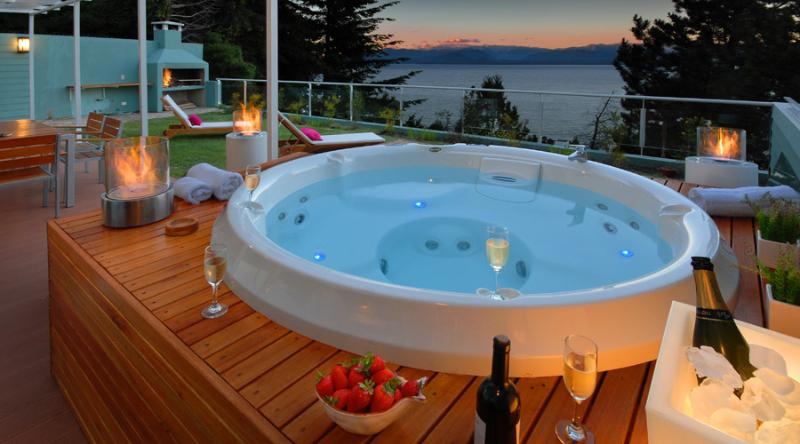 Private Jacuzzi - Private Jacuzzi with Huge Outdoor area and BBQ!!! - San Carlos de Bariloche - rentals