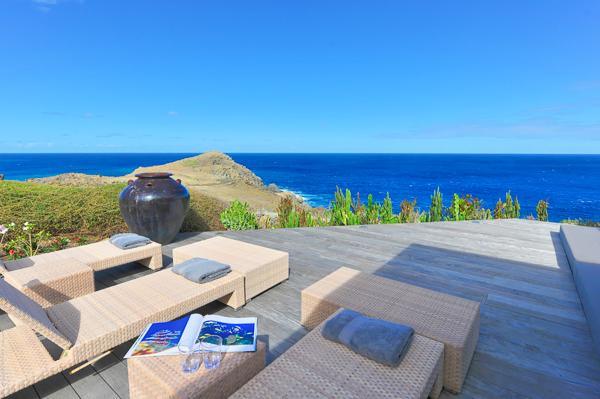 Located on the edge of the magnificent cliffs of Petit Cul de Sac WV CMA - Image 1 - Saint Barthelemy - rentals