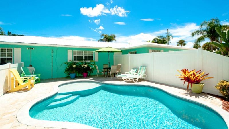 Heated Pool! - Escape to Serenity B: 2BR Pet-Friendly Pool Home - Holmes Beach - rentals