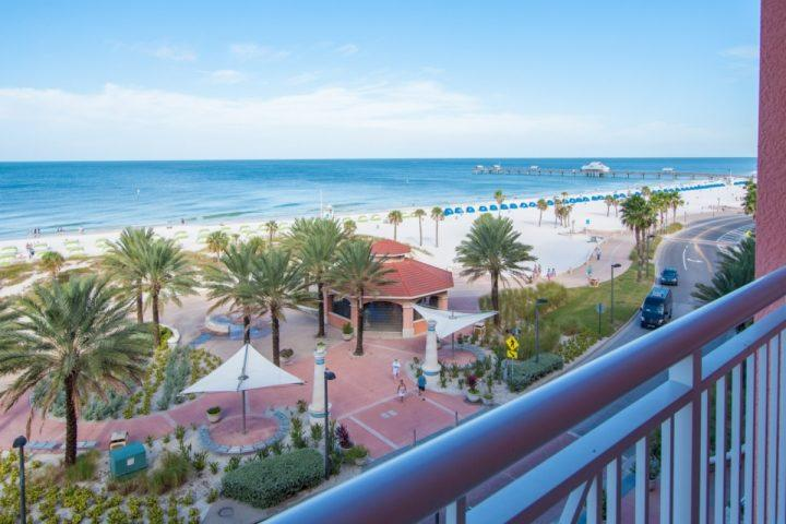 Large Private Patio with Breathtaking Views of The Gulf of Mexico - 503 Aqualea - Clearwater - rentals