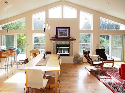 Riverside Lodge, Large Dining Table for 10 or more. - Riverside Lodge - Guerneville - rentals