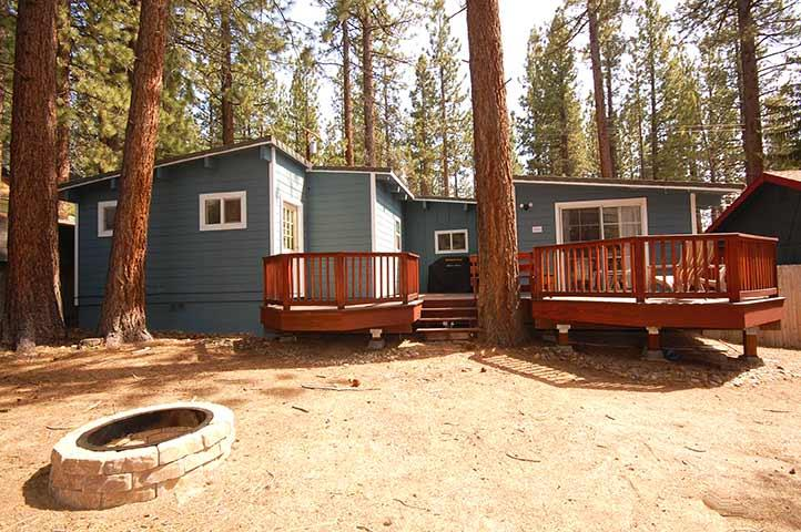Exterior - Spacious Fenced Lot - 3333 Bruce Drive - South Lake Tahoe - rentals