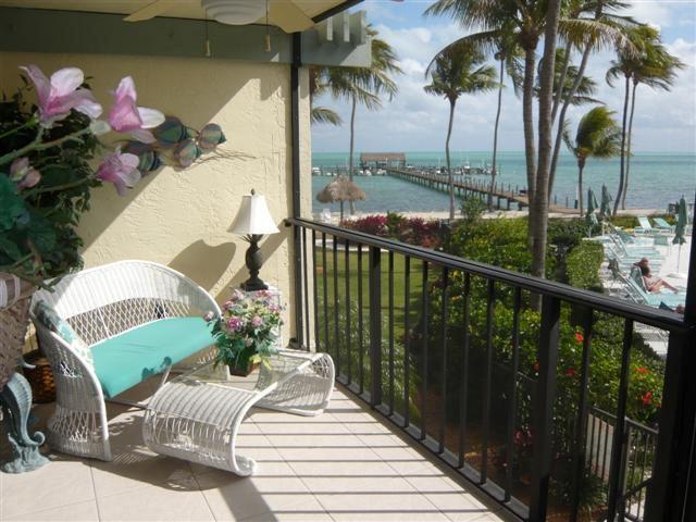 Balcony - BEACON REEF 211 - Islamorada - rentals