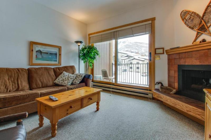 Ski-in/ski-out efficiency condo with community pool & hot tub! - Image 1 - Steamboat Springs - rentals