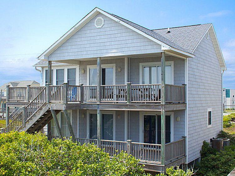 Exterior - Our Time - Spectacular Oceanfront View, Pet Friendly, Vibrant Nautical Decor - Surf City - rentals