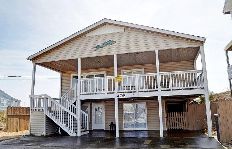 Shore's Bliss - Shore's Bliss - Magnificent Oceanfront View, Cheerful Decor, Favorable Location - Surf City - rentals