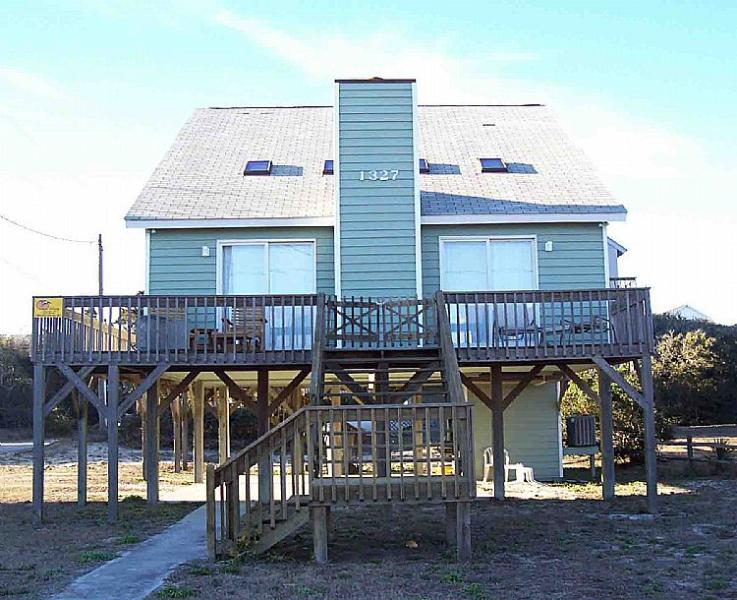 Daughtry Home - Daughtry - Ocean View, Traditional Cottage, Near Beach Access, Near Shopping - Surf City - rentals